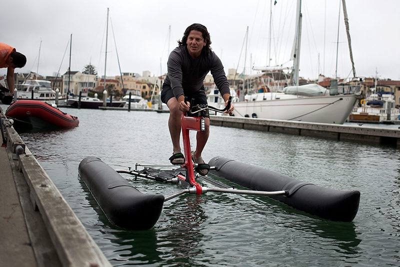 Pricey Water Bike Makes A Splash News Fix KQED News