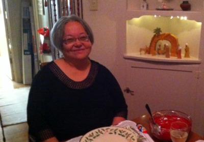 Teresa Sheehan at Christmas dinner in 2014. (Courtesy of Francis Sheehan)