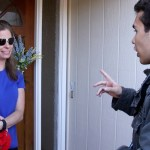 A Young Latino Goes Door to Door in Support of Donald Trump
