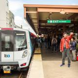 Not a Mirage: New BART Cars Appear During Evening Commute