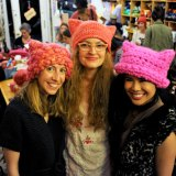 L.A.'s Pussyhat Project Crafts a Political Statement