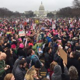 Women's March Floods Washington, Sparking Rallies Worldwide