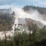 Oroville Update: Lake Continues to Fall as Storms Roll Through