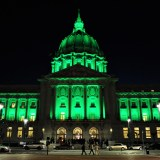 Who's Behind the Colorful Lights at San Francisco City Hall?