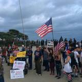Counterprotesters Swamp Anti-Immigrant Demonstration in Laguna Beach