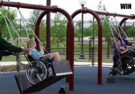 10个最好/坑爹的残疾人设施