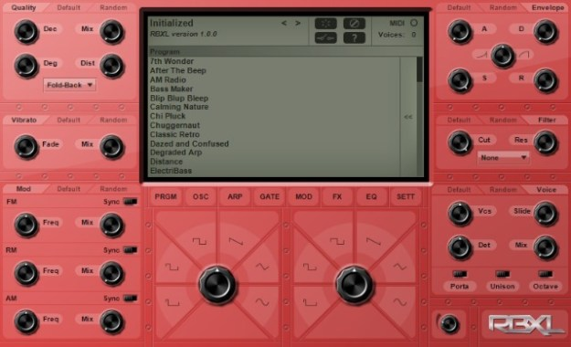 Subtractive Chiptune Synth For Windows