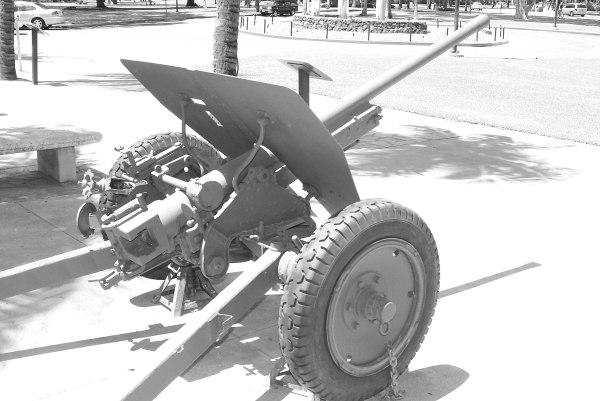 [Photo] Japanese Type 1 47mm anti-tank gun on display at ...