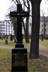 Berlin Mitte, Alter Garnisionsfriedhof, März 2012