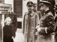 Himmler with his daughter, 1938 2