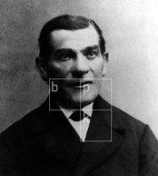 Friedrich (Fritz) Goebbels, Vater des NS-Politikers Joseph Goebbels. Tagelöhner, später ProkuristSystematik: Personen / Politiker / Deutschland / Goebbels / Familie