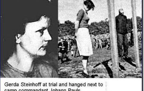 Bad Girls of Nazi Germany: Gerda Steinhoff  - WW2 Gravestone