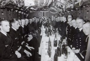 Image result for ww2 german u boat crew drinking