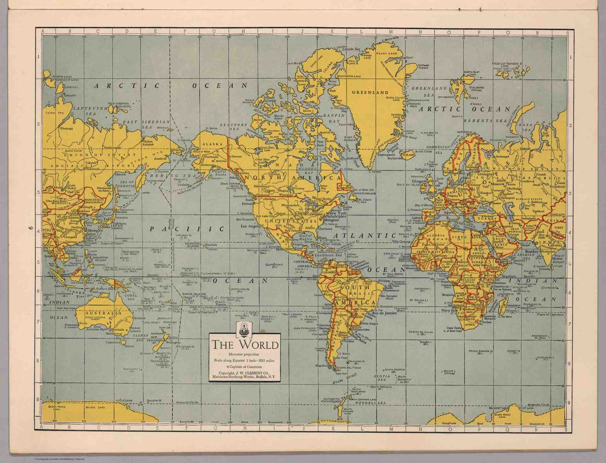 World War Ii Led To A Revolution In Cartography These
