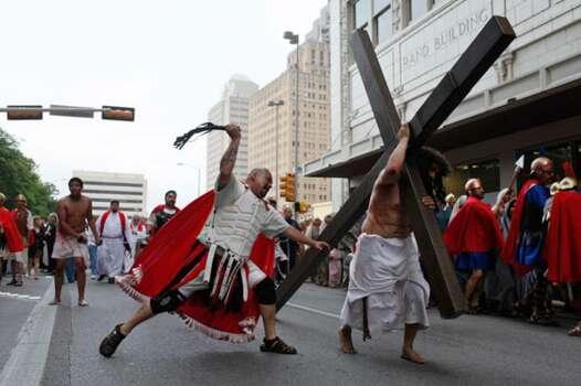 Record Roman Jesus Crucifixion