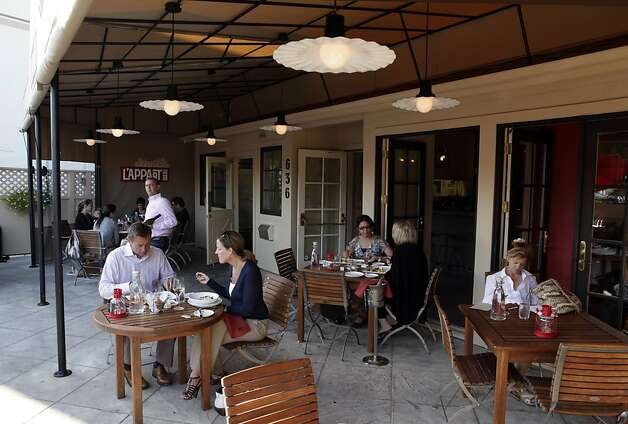 San Anselmos LAppart Offers A French Touch SFGate