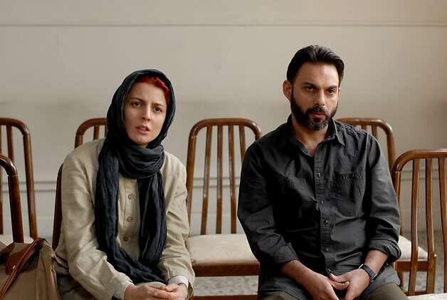 "Left to Right: Leila Hatami as Simin and Peyman Moadi as Nader in, ""A Separation."" Photo: Habib Madjidi, Sony Pictures Classics / SF"