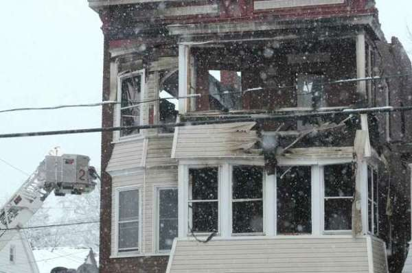 Three hospitalized in Schenectady fire - Times Union