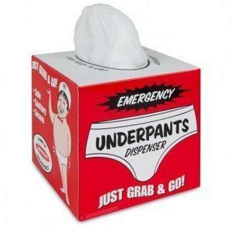 UNDERPANTS DISPENSER: Because sometimes you need a pair fast. (View on Amazon.) / SL