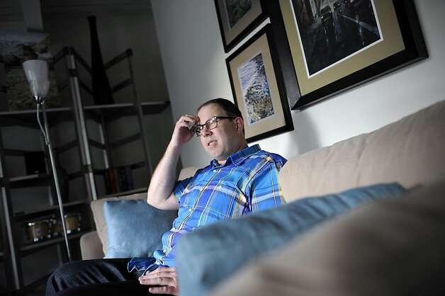 "Greg Annis just got approval to short-sell his Pleasanton condo, seven months after he applied. He was concerned about the year-end expiring of the ""forgiven debt"" tax exemption. Photo: Michael Short, Special To The Chronicle / SF"