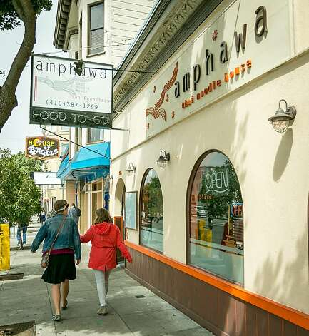 Amphawa Thai Noodle House, on Geary Boulevard near 14th Avenue, is run by owner and chef Kob Varaphol.  The restaurant serves home-style Thai food with fresh ingredients and deep flavor - and without backing down on spice levels. Photo: John Storey, Special To The Chronicle