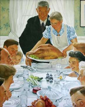 Norman Rockwell Thanskgiving