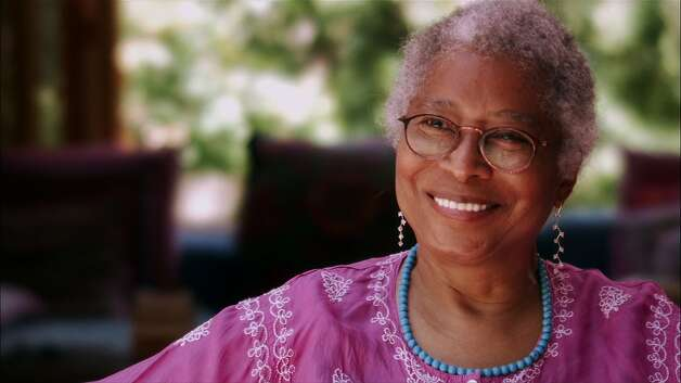 "Author Alice Walker says she never cared what others think of her. ""I've always felt quite singular, even as a child,"" she says. Photo: Shaheen Haq, PBS/American Masters"