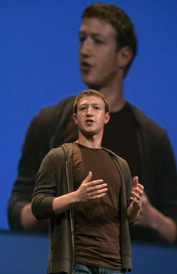 Facebook founder Mark Zuckerberg speaks at F8, Facebook's ...