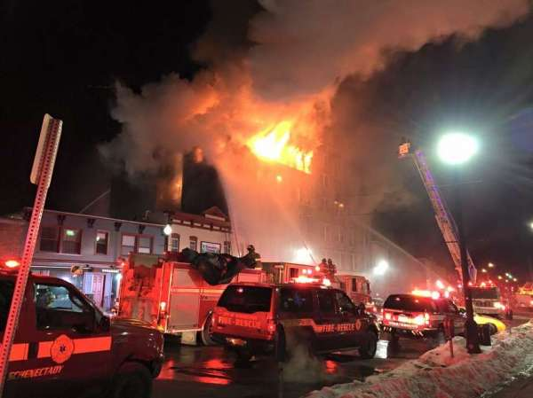 Fire at 100-102 and 104 Jay St., Schenectady: March 6 ...