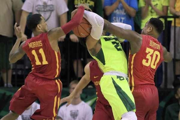 Men's basketball: Motley leads Baylor past Iowa St. in OT ...