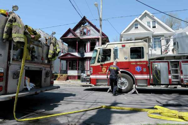 Suspect in Schenectady fire finally suspected - Times Union