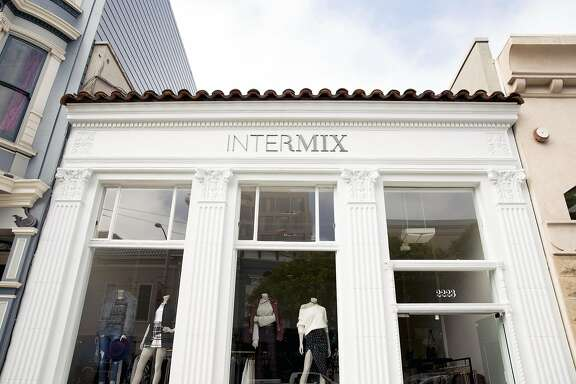 Intermix, a New York womens clothing shop featuring the work of established and upcoming designers, recently opened at 2223 Fillmore St. and is the third Bay Area branch of the chain. The others are located in Marin and Palo Alto.
