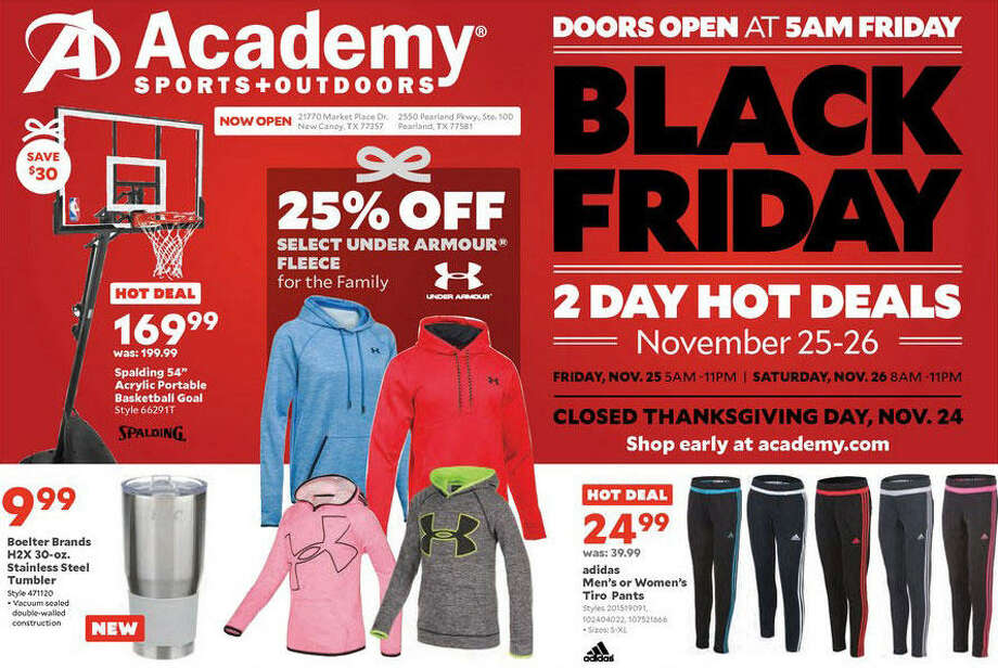 Academy Sports Outdoors Black Friday 2016 Doorbuster Ad