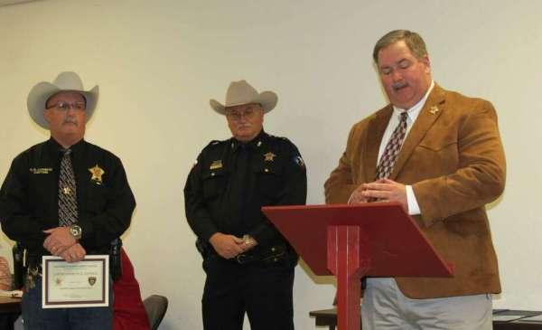 SJC law enforcement sworn in for 2017 - Houston Chronicle