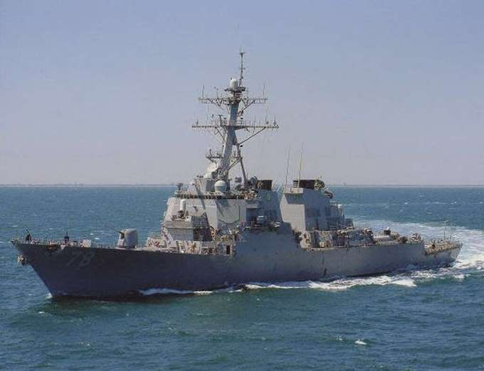 The USS Porter is one of the Navy destroyers that launched the cruise missile strike into Syria.