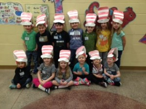 Honoring Dr. Seuss's birthday on March 2nd / Read Across America