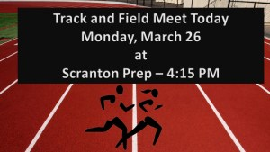 Track and Field will Travel to Prep today for Scrimmage 3/26/18