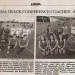 Track and Field 1st Team All-Stars