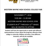 WWHS College Fair – November 7th