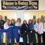 Hamlin/ Lake Ariel Rotary Donates Coats for Western Wayne Students