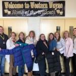 Hamlin/ Lake Ariel Rotary Donates Coats for Western Wayne Students
