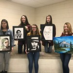 Western Wayne Art Students Recognized as Artists of the Month