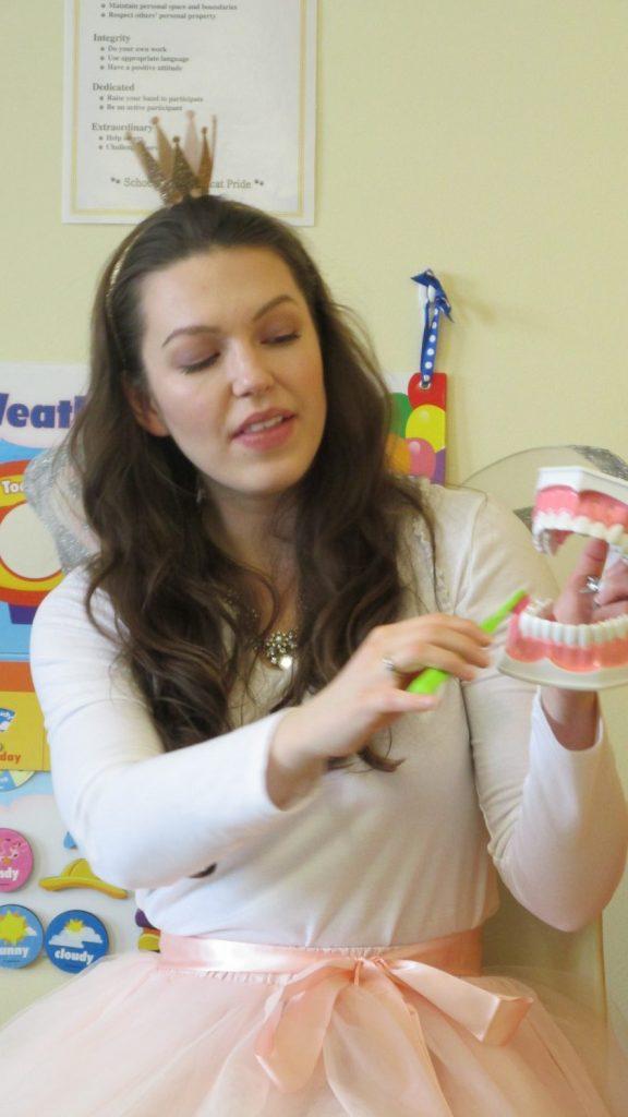 Tooth Fairy Visit – National Children's Dental Health Month