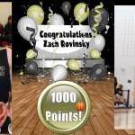 Rovinsky Joins 1000 Point Club