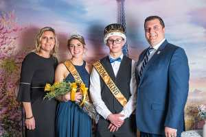 2019 Western Wayne Prom King and Queen