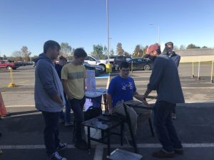 Western Wayne Hosts Mobile Glass Laboratory for Over 600 Students