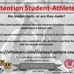 Free Courses Offered for Athletes from NFHS