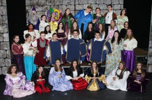 High School Students Grades 9 through 12 Can Join Drama Club