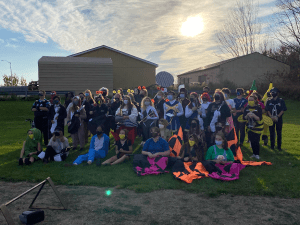 Western Wayne Band Virtually Entertains Community for Halloween