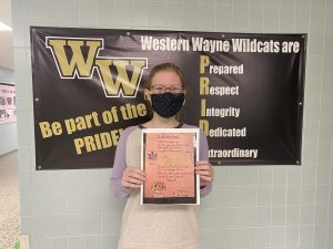Western Wayne Student Places Second in 2020 National Chemistry Week Poem Contest